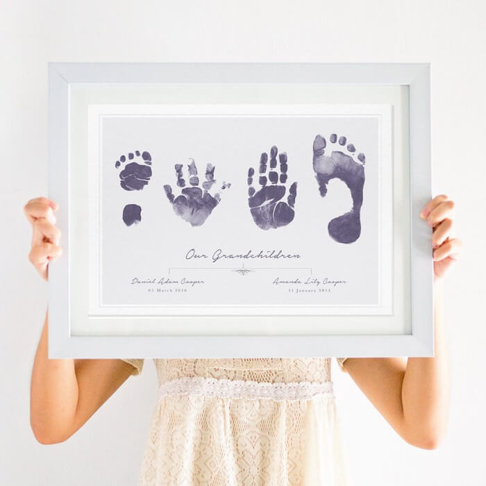 Handprint and Footprint Art