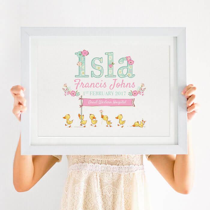 Personalised Baby Print