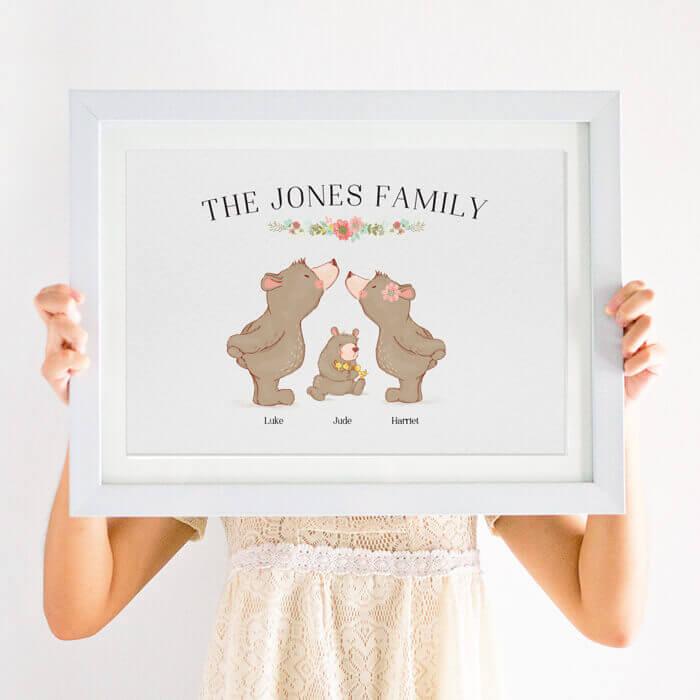 family animal print