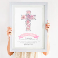 From The Godparents Christening Print